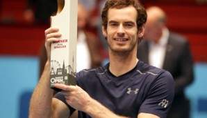 VIENNA,AUSTRIA,30.OCT.16 - TENNIS - ATP World Tour, Erste Bank Open, final. Image shows Andy Murray (GBR). Photo: GEPA pictures/ Walter Luger