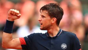 Dominic Thiem ist in Paris fast am Ziel