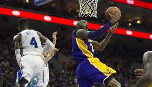 PLATZ 3: Kobe Bryant (1996-2016) - 33.643 Punkte in 1.346 Spielen - Los Angeles Lakers