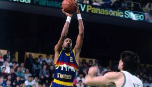 PLATZ 20: Alex English (1976-1991) - 25.613 Punkte in 1.193 Spielen - Milwaukee Bucks, Indiana Pacers, Denver Nuggets, Dallas Mavericks.