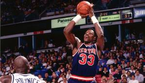 PLATZ 23: Patrick Ewing (1985-2002) - 24.815 Punkte in 1.183 Spielen - New York Knicks, Seattle SuperSonics, Orlando Magic.