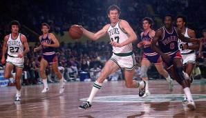 PLATZ 17: John Havlicek (1962-1978) - 26.395 Punkte in 1.270 Spielen - Boston Celtics.