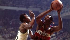 PLATZ 10: Elvin Hayes (1968-1984) - 27.313 Punkte in 1.303 Spielen - San Diego Rockets, Baltimore/Washington Bullets, Houston Rockets.