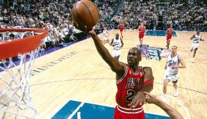 PLATZ 5: Michael Jordan (1984-1993, 1994-1998, 2001-2003) - 32.292 Punkte in 1.072 Spielen - Chicago Bulls, Washington Wizards.