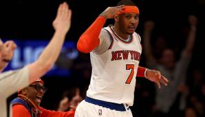 PLATZ 19: Carmelo Anthony (2003 - heute) - 25.374 Punkte in 1.051 Spielen - Denver Nuggets, New York Knicks, Oklahoma City Thunder (Stand 7.4.2018)