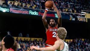 PLATZ 9: Moses Malone (1974-1995) - 27.409 Punkte in 1.329 Spielen - u.a. Houston Rockets, Philadelphia 76ers, Washington Bullets, Atlanta H