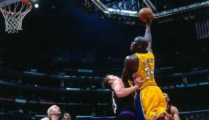 PLATZ 8: Shaquille O'Neal (1992-2011) - 28.596 Punkte in 1.207 Spielen - Orlando Magic, L.A. Lakers, Miami Heat, Phoenix Suns, Cleveland Cavaliers, Boston Celtics.