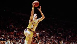 PLATZ 21: Jerry West (1960-1974) - 25.192 Punkte in 932 Spielen - Los Angeles Lakers