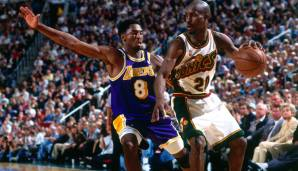 Platz 10: Gary Payton - 8966 Assists in 1335 Spielen - Sonics, Heat, Lakers, Celtics, Bucks