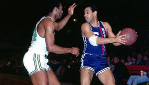 Platz 21: Guy Rodgers - 6917 Assists in 892 Spielen - Warriors, Bucks, Bulls, Royals