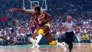 Platz 5: Magic Johnson - 10141 Assists in 906 Spielen - Lakers