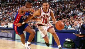 Platz 4: Mark Jackson - 10334 Assists in 1296 Spielen - Knicks, Pacers, Clippers, Jazz, Raptors, Nuggets, Rockets