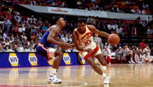 Platz 13: Maurice Cheeks - 7392 Assists in 1101 Spielen - 76ers, Knicks, Hawks, Spurs, Nets