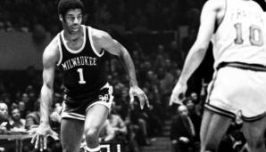 Platz 6: Oscar Robertson - 9887 Assists in 1040 Spielen - Royals, Bucks