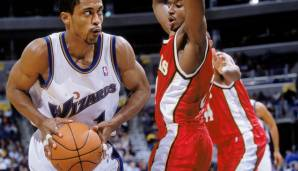 Platz 12: Rod Strickland - 7987 Assists in 1094 Spielen - Trail Blazers, Bullets/Wizards, Spurs, Knicks, Heat, Timberwolves, Magic, Rockets, Raptors