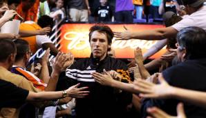 Platz 3: Steve Nash - 10335 Assists in 1217 Spielen - Suns, Mavericks, Lakers