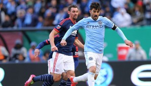 Platz 7: David Villa (New York City FC): 4.959.240 Euro pro Jahr
