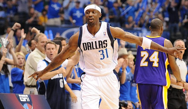 Platz 2: Jason Terry - 9 Dreier (bei 10 Versuchen) - Mavericks vs. Lakers 2011, Game 4