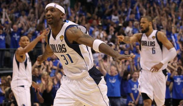 PLATZ 14: Jason Terry - 219 Dreier in 121 Spielen - Dallas Mavericks, Boston Celtics, Houston Rockets, Milwaukee Bucks (Stand: 3. Mai 2017)
