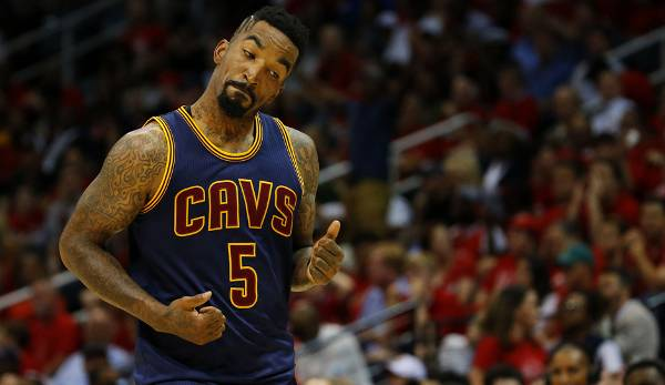 PLATZ 12: J.R. Smith - 224 Dreier in 101 Spielen - Denver Nuggets, New York Knicks, Cleveland Cavaliers (Stand: 23. Mai 2017)