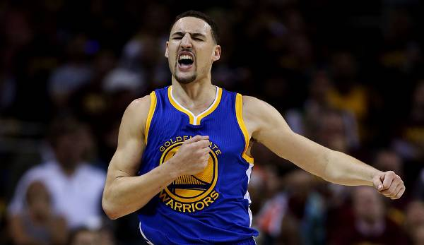 PLATZ 13: Klay Thompson - 220 Dreier in 76 Spielen - Golden State Warriors (Stand: 23. Mai 2017)