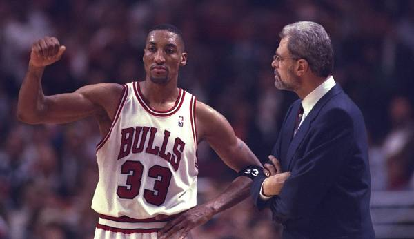 PLATZ 16: Scottie Pippen - 200 Dreier in 208 Spielen - Chicago Bulls, Houston Rockets, Portland Trail Blazers