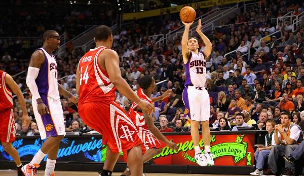 PLATZ 22: Steve Nash - 178 Dreier in 120 Spielen - Phoenix Suns, Dallas Mavericks, Los Angeles Lakers