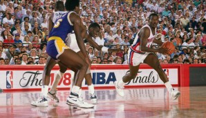 1989: Joe Dumars - Detroit Pistons - 4-0 vs. Lakers