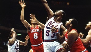 1983: Moses Malone - Philadelphia 76ers - 4-0 vs. Lakers