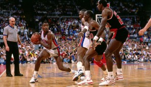 1990: Isiah Thomas - Detroit Pistons - 4-1 vs. Trail Blazers