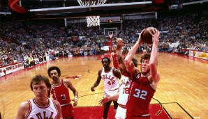 1977: Bill Walton - Portland Trail Blazers - 4-2 vs. 76ers
