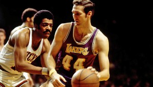 1969: Jerry West - Los Angeles Lakers - 2-4 vs. Celtics - einziger Finals MVP vom Verliererteam