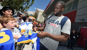 Draymond Green (Golden State Warriors), 1 Länderspiel
