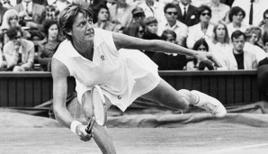 Platz 1: Margaret Smith Court (AUS), 24 Titel, 11 Mal Australian Open, 5 Mal French Open, 3 Mal Wimbledon, 5 Mal US Open