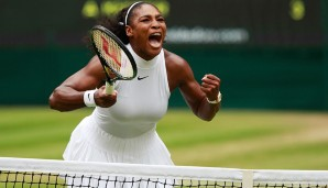 Platz 2: Serena Williams (USA), 23 Titel, 7 Mal Australian Open, 3 Mal French Open, 7 Mal Wimbledon, 6 Mal US Open