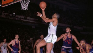 Sam Jones (Boston Celtics, 1957-1969): 12 Saisons. Erfolge: 10x NBA-Champion (1959-1966, 1968, 1969), 5x All-Star (1962, 1964-1966, 1968)