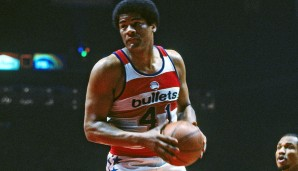 Wes Unseld (Baltimore/Capital/Washington Bullets, 1968-1981): 13 Saisons. Erfolge: NBA Champion (1978), Finals-MVP (1978), MVP (1969), 5x All-Star (1969, 1971-1973, 1975)
