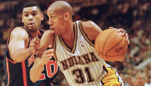 Reggie Miller (Indiana Pacers, 1987-2005): 18 Saisons.. Erfolge: 5x All-Star (1990, 1995, 1996, 1998, 2000)