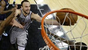 Manu Ginobili (San Antonio Spurs, 2002 bis heute): 16 Saisons. Erfolge: 4x NBA-Champion (2003, 2005, 2007, 2014), 2x All-Star (2005, 2011)