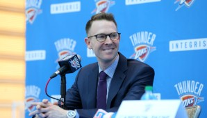 General Manager: Sam Presti (seit 2007)