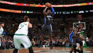 SG: Victor Oladipo, Saison 2015/16 (Orlando Magic): 16 Punkte, 4,8 Rebounds, 3,9 Assists