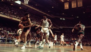 All-Time Rebounding Leader: Kareem Abdul-Jabbar mit 7.161 Rebounds