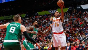 C: Al Horford, Saison 2015/16 (Atlanta Hawks): 15,2 Punkte, 7,3 Rebounds, 3,2 Assists