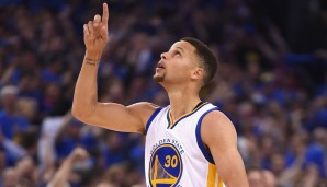 PLATZ 2: Stephen Curry (Golden State Warriors). Gesamtstärke: 94