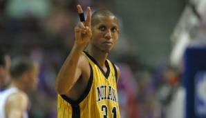 All-Time Assists Leader: Reggie Miller mit 4.141 Dimes