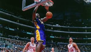 61 Punkte: Shaquille O'Neal (Los Angeles Lakers) im Jahr 2000 gegen die Los Angeles Clippers.