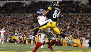 Wide Receiver, AFC: Antonio Brown, Pittsburgh Steelers