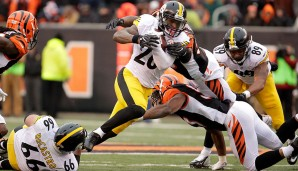 Running Backs, AFC: Le'Veon Bell, Pittsburgh Steelers