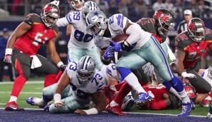 Running Backs, NFC: Ezekiel Elliott, Dallas Cowboys