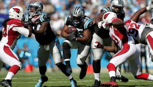 Fullback, NFC: Mike Tolbert, Carolina Panthers